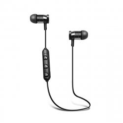 Blaupunkt auriculares Bluetooth magnéticos negros