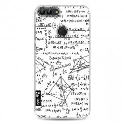 Casetastic Funda Flexible Huawei P Smart - You Do The Math  White