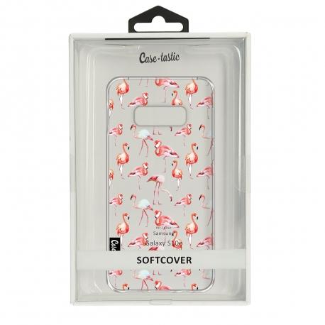 Casetastic Funda Flexible Samsung Galaxy S10e Flamingo