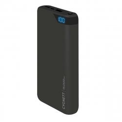 Cygnett power bank 15000 mAh 2 puertos USB 2.4A negra
