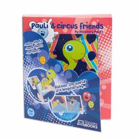 Discovery Books Pauli y sus amigos del circo libro interactivo