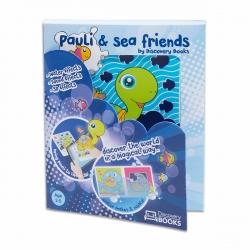 Discovery Books Pauli y sus amigos del mar libro interactivo