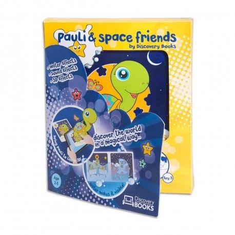 Discovery Books Pauli y sus amigos del espacio libro interactivo