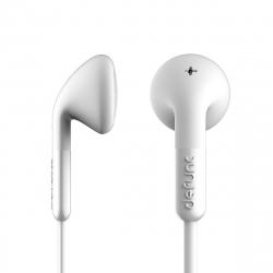DeFunc + TALK auriculares con cable jack 3,5 mm blancos