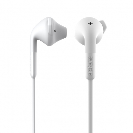 DeFunc +  HYBRID auriculares con cable jack 3,5 mm blancos