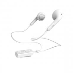 DeFunc PLUS Talk auriculares Bluetooth blancos