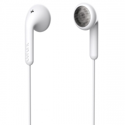 DeFunc Basic Talk auriculares con cable jack 3,5mm blancos