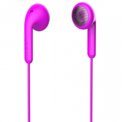 DeFunc Basic Talk auriculares con cable jack 3,5mm rosas