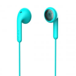 DeFunc Basic Talk auriculares con cable jack 3,5mm azul cyan