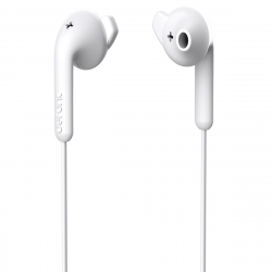 DeFunc Basic Hybrid auriculares con cable jack 3,5mm blancos