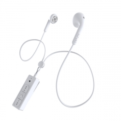 DeFunc Basic Talk auriculares bluetooth blancos