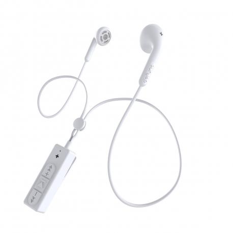 DeFunc Basic Talk auriculares bluetooth blancos