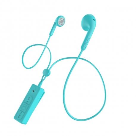 DeFunc Basic Talk auriculares bluetooth cyan