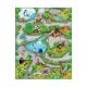 3DUPlay Alfombra interactiva Zoo 3D 90 x 120 cmm
