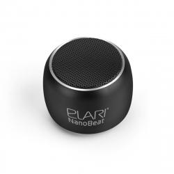 Elari Nanobeat mini altavoz bluetooth con capacidad de emparejamiento para producir sonido estéreo negro