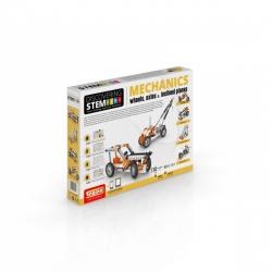 Engino kit Discovering STEM Mechanics Ruedas, Ejes y Planos Inclinados