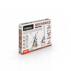 Engino kit Discovering STEM Mechanics Grúas y poleas