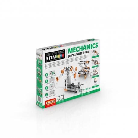 Engino Kit Discovering STEM Mechanics Engranajes y Tornillos Sin Fin