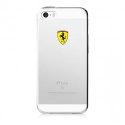 Ferrari funda Apple iPhone SE/5S/5 Racing transparente
