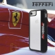 Ferrari carcasa Apple iphone 8/7 Shockproof Scuderia transparente/negra