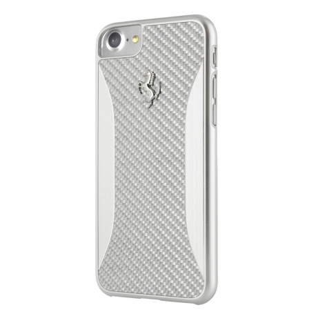 Ferrari carcasa Apple iPhone 8 Plus/7 Plus GT experience fibra carbono aluminio