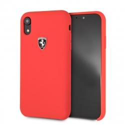 Ferrari funda Apple iPhone XR silicona roja