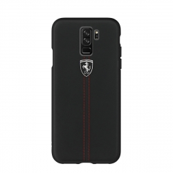 Ferrari carcasa Samsung Galaxy S9 Plus Heritage negra