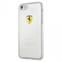 Ferrari funda Apple iPhone 8 Plus/7 Plus Racing transparente