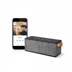 Fresh'N Rebel altavoz Bluetooth Rockbox Brick Fabric Edition Concrete