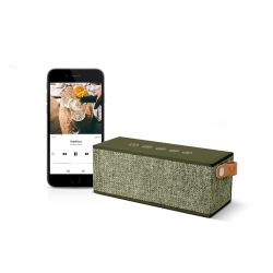 Fresh'N Rebel altavoz Bluetooth Rockbox Brick Fabric Edition Army