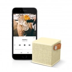 Fresh'N Rebel altavoz Bluetooth Rockbox CubeFabric Edition Buttercup