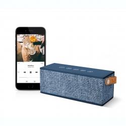 Fresh'N Rebel altavoz Bluetooth Rockbox Brick Fabric Edition Indigo