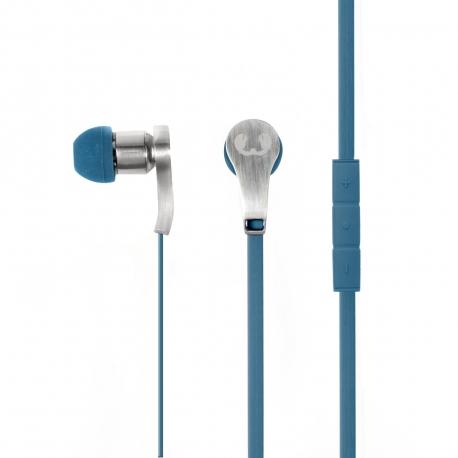 Fresh'N Rebel auriculares estéreo 3,5mm con micro Lace Indigo