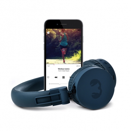 Fresh'N Rebel Caps cascos Bluetooth Indigo