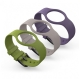 Geeks!me pack 3 correas de colores para Life Lowers Watch