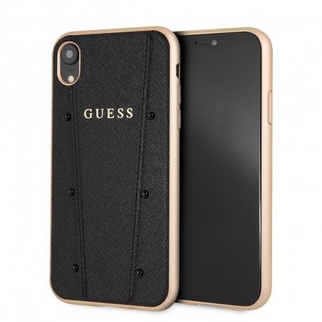 Guess carcasa Kaia Apple iPhone XR negra