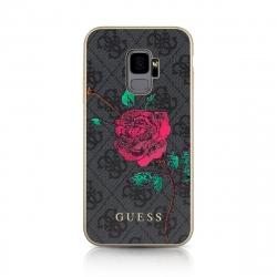 Guess carcasa Samsung Galaxy S9 Flower rosa