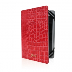 "Guess funda tablet universal. Hasta 8"" Crocodile roja"