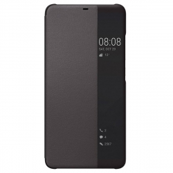 Huawei funda Huawei P20 Lite Flip Cover negra