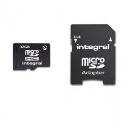 Integral Memory tarjeta memoria microSD HC 32GB clase 10