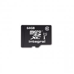 Integral Memory tarjeta memoria microSD XC 64GB clase 10