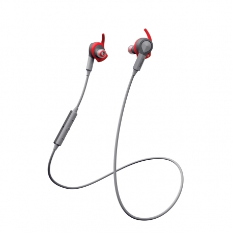 Jabra Sport Coach auricular estéreo Bluetooth DOLBY con acelerómetro rojo