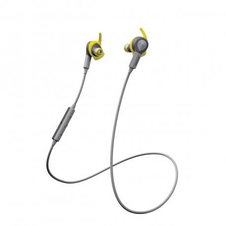 Jabra Sport Coach auricular estéreo Bluetooth DOLBY con acelerómetro amarillo