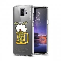 Kukuxumusu funda Samsung Galaxy S9 Beer transparente