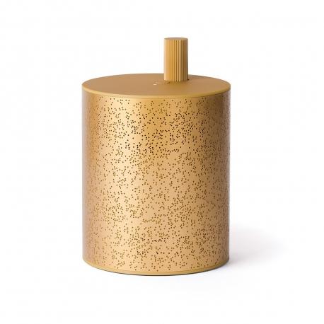 Lexon Cylindre altavoz bluetooth dorado