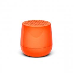 Lexon mino altavoz bluetooth naranja fluorescente
