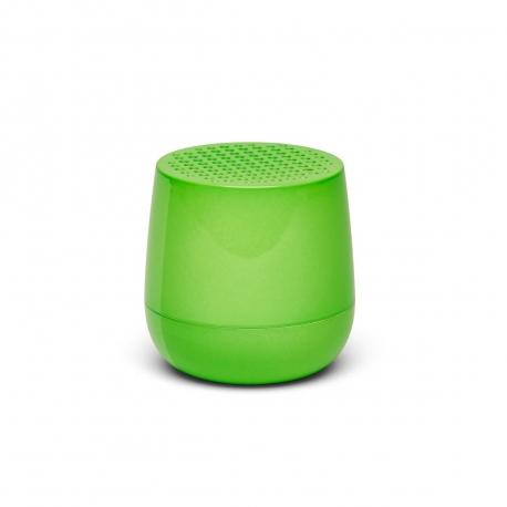 Lexon mino altavoz bluetooth verde fluorescente