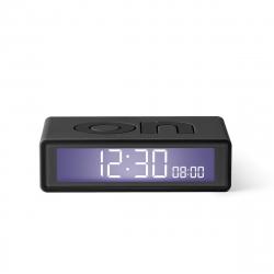Lexon Flip travel Reloj despertador LCD gris oscuro
