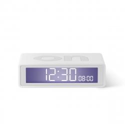 Lexon Flip travel Reloj despertador LCD blanco
