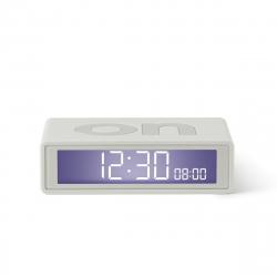 Lexon Flip travel Reloj despertador LCD gris claro
